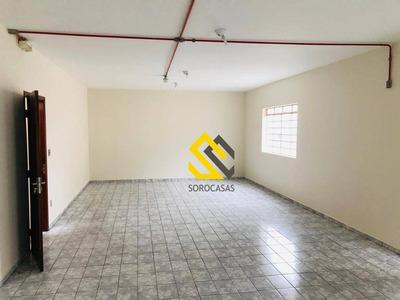 Salão Para Alugar, 1200 M² Por R$ 10.000/mês - Além Ponte - Sorocaba/sp - Sl0014