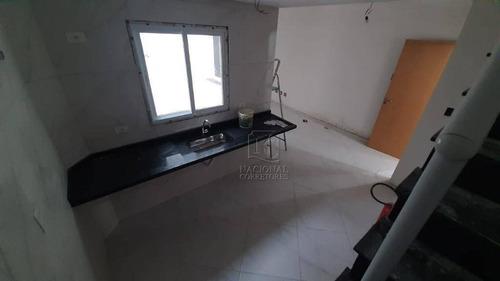 Cobertura Com 2 Dormitórios À Venda, 94 M² Por R$ 400.000,00 - Vila Assunção - Santo André/sp - Co5306