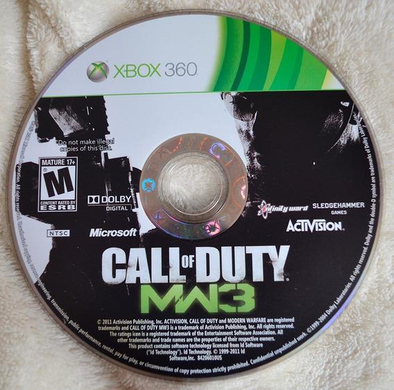 Jogo Call Of Duty - Modern Warfare 3 (midia Fisica) Xbox360