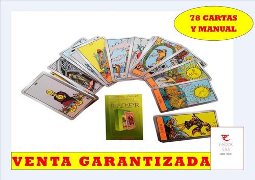 Tarot Esotérico Rider - 78 Cartas Y Manual( Solo Originales)