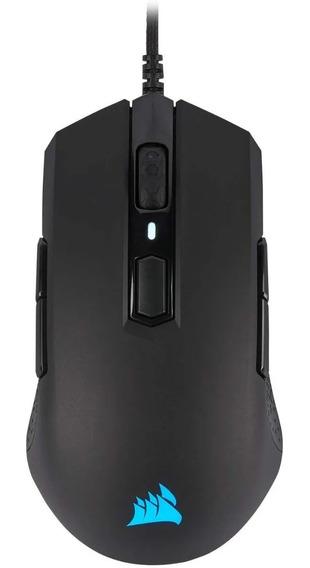 Mouse Gamer Corsair M55 Rgb Pro 12400dpi Ambidestro Preto