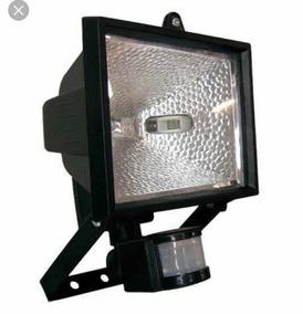 Refletor Projetor Com Sensor De Movimento Halogênio 300/500w