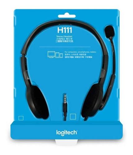 Diadema Logitech - H111 Plug Stereo