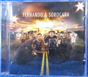 Cd Fernando & Sorocaba Homens E Anjos Original Pronta Entreg