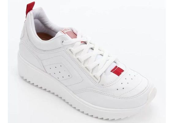 Tênis Coca-cola X58 Feminino Branco E Vermelho