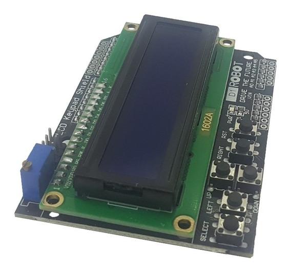 Módulo Display Lcd 16x02 Com Teclado