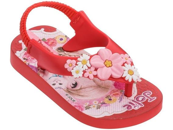 Chinelo Infantil Feminino Ipanema Jolie Baby 26215 Nova