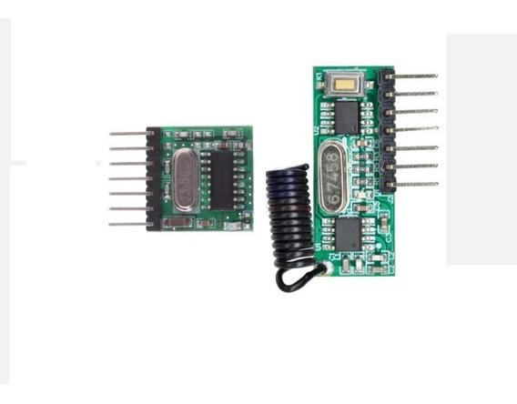 Transmissor E Receptor 4 Canais 433mhz - Lote 10 Pares