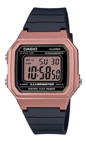Reloj Casio Vintage Retro W-217hm-5a Digital 50 Metros