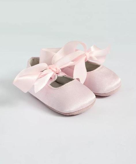 Sapato De Bebê Ralph Lauren Rosa Original