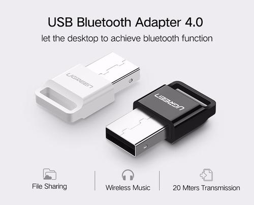 Adaptador Bluetooth Usb Ugreen Bt 4.0 Pc/laptop Dongle