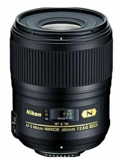 Imperdível Lente Nikon Af-s Micro Nikkor Lens 60mm F/2.8g Ed