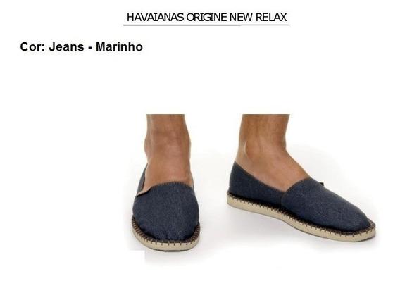 Alpargatas Havaianas Origine New Relax - Jeans - Originais