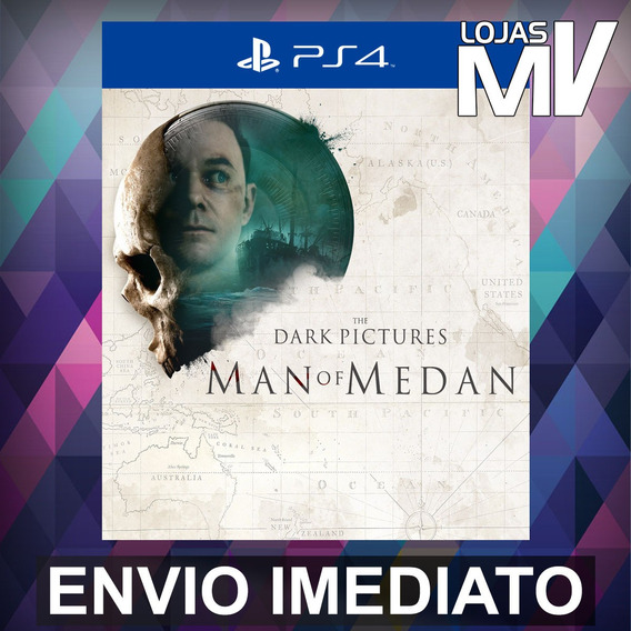 The Dark Pictures Anthology Man Of Medan - Ps4 Código