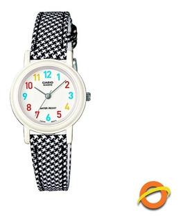 Reloj Casio Lq-139l Analogico Linea Teen Cuero Genuino