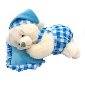 Pelucia Urso Dormindo Que Ronca 28cm D14034