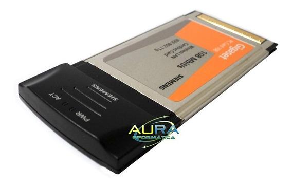 Placa Wireless Lan Sem Fio Para Pc Notebook 2,4ghz 108mbp/s
