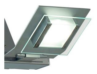 Aplique De Pared 2 Luces Led Incorporadas 24w Linea Iluminac