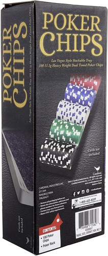 Poker Chips X 100 Fichas Para Poker Envío Rápido