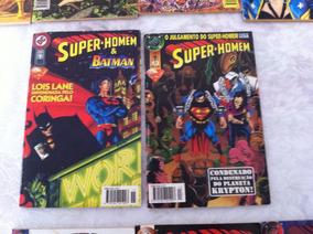 Super-homem 2° Série Ed. Abril N° 13 E 15