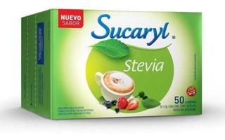 Sucaryl Stevia Edulcorante X 50 Sobres