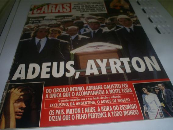Revista Especial Caras Adeus ,ayrton Nº3 Ano 1994 Conservada