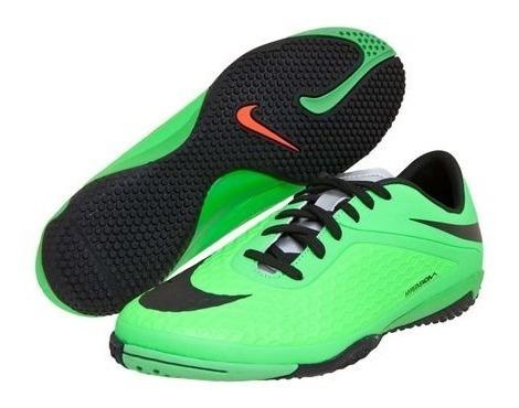 Chuteira Tênis Nike Futsal Hypervenom Phelon Ic 7486 Preto/verde