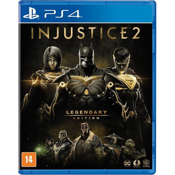 Injustice 2 Legendary Edition Ps4 Mídia Física 100%português