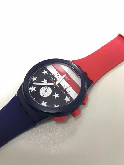 Relógio Swatch Usa Olimpíadas 2016