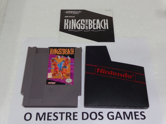 Kings Of The Beach Original Para Nintendo Nes Confira