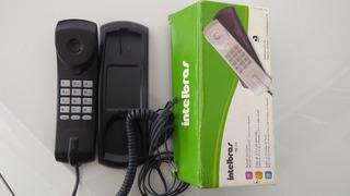 Telefone Intelbras Preto Portaria Porteiro Idoso Recepção