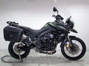 Triumph - Tiger 800 Xc - 2014 Verde