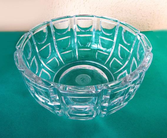 Tigela Bowl Centro De Mesa De Vidro Vidrão Funda