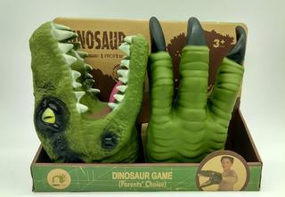 Dinosaurio De Goma Cabeza Y Garras T/titere