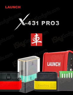 Interfase Launch Golo Master 2.0 + Software X431 Pro3