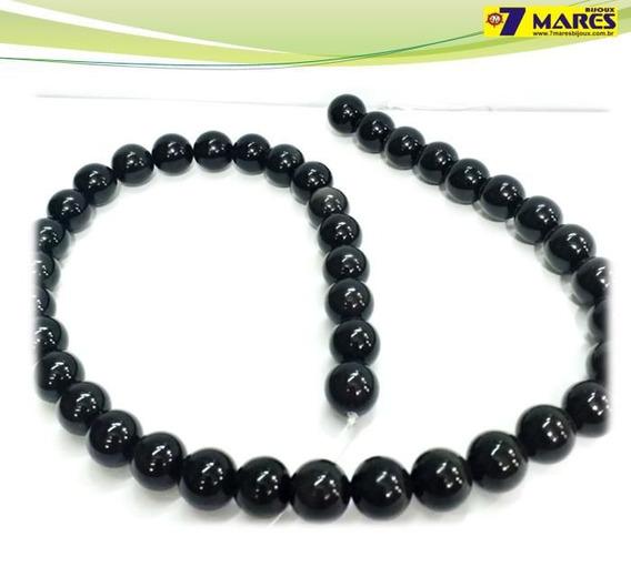 Pedra Obsidiana Black 10mm