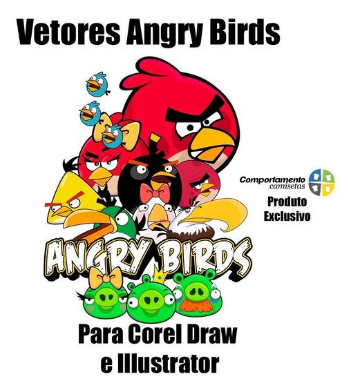 Vetores Angry Birds Para Corel Draw