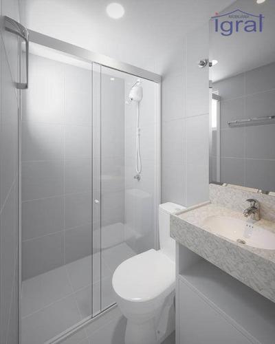 Apartamento À Venda, 35 M² Por R$ 240.000,00 - Jardim Oriental - São Paulo/sp - Ap1301