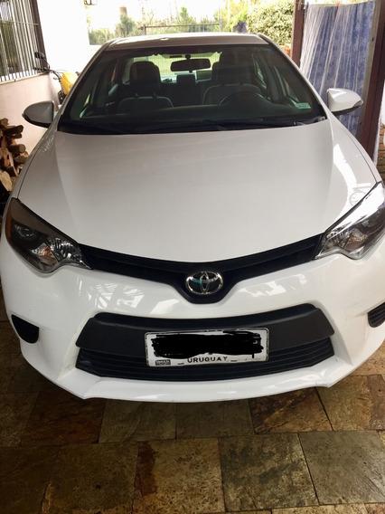 Toyota Corolla 2014 Sedan 4 Puertas Blanco
