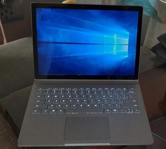 Microsoft Surface Book Core I7, 13.5 512 Gb E 16gb Silver