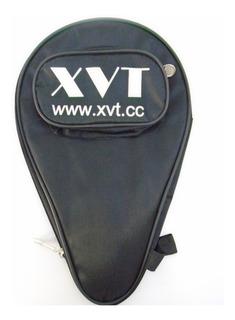 Raqueteira Xvt Case Capa Com Porta Bolas Tênis De Mesa