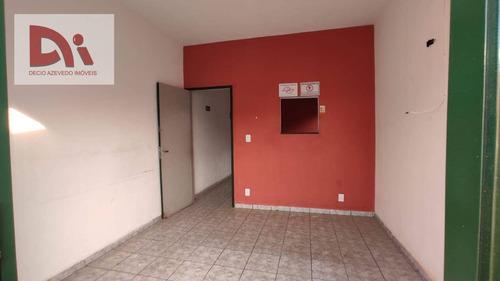 Imagem 1 de 7 de Casa Comercial Para Alugar, 75 M² Por R$ 1.700/mês - Jardim Independência - Taubaté/sp - Ca0137
