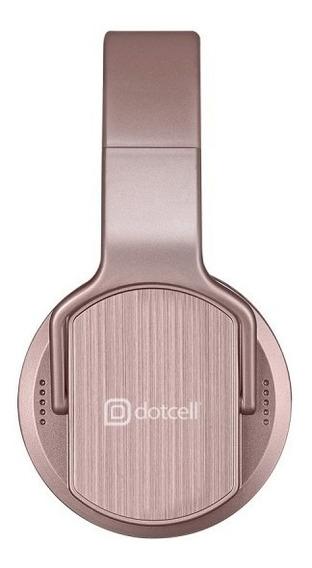 Fone De Ouvido Dotcell 2 Em 1 Sem Fio Bluetooth Rose Gold