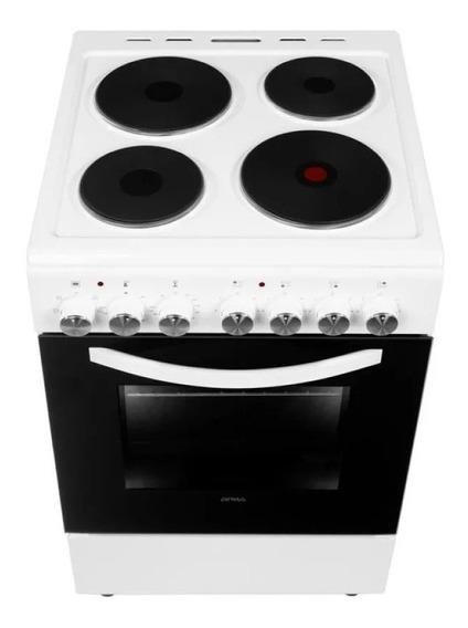 Cocina Electrica Atma Cch062b 60 Cm Blanca