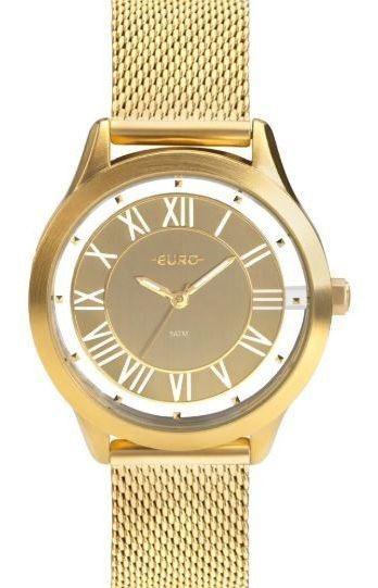 Relógio Euro Ouse Ser Você Mesma Feminino Eu2039jh/4d