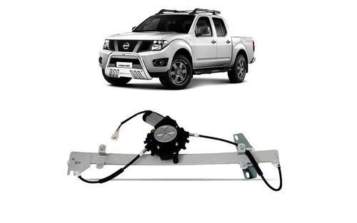 Maquina De Vidro Nissan Frontier Com Motor Dianteira Direito