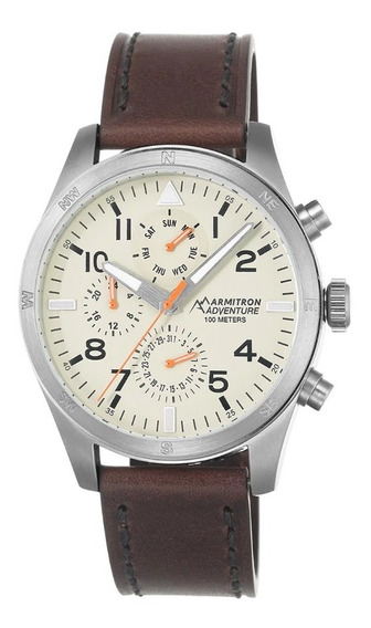 Reloj Armitron Café Para Hombre