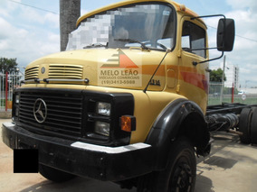 Mb L 1316 - 80/80 -truck, No Chassi, Pneus Bons, Bem Cuidado