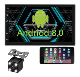 Auto Estereo Wifi Mirror Link Para Android Y Ios Bluetooth Gps Pantalla Táctil 7 Pulgadas 2 Doble Din