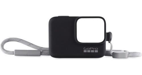 Capa De Silicone Gopro Sleeve Black - Acsst001